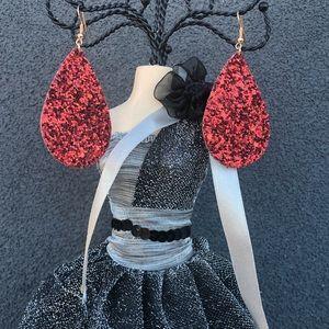 Atelier Sona Jewelry - New Sparkly Tear Drop Earrings